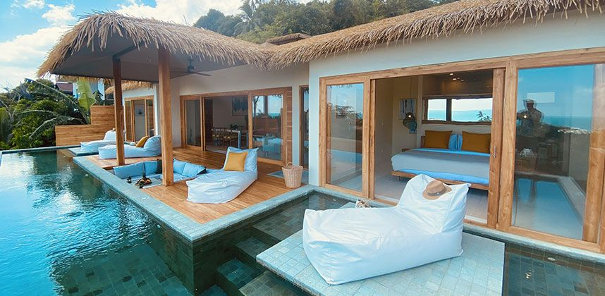 2 bedrooms Sea View Cottage with Private Pool